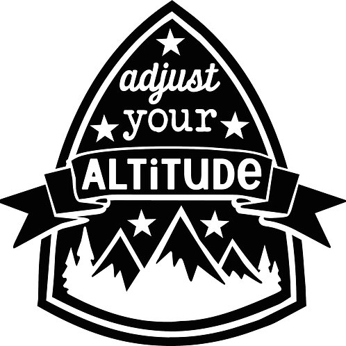 Adjust Your Altitude Decal