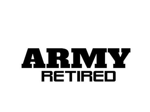 retired army