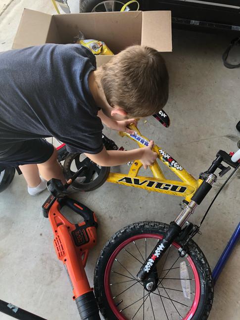 Customizing His Ride with Custom Vinyl Stickers