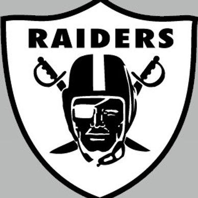 Raiders Vinyl Sticker