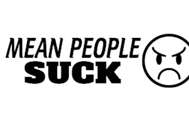 Mean People Suck Decal