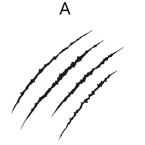 Claw Mark / Scratch Decal