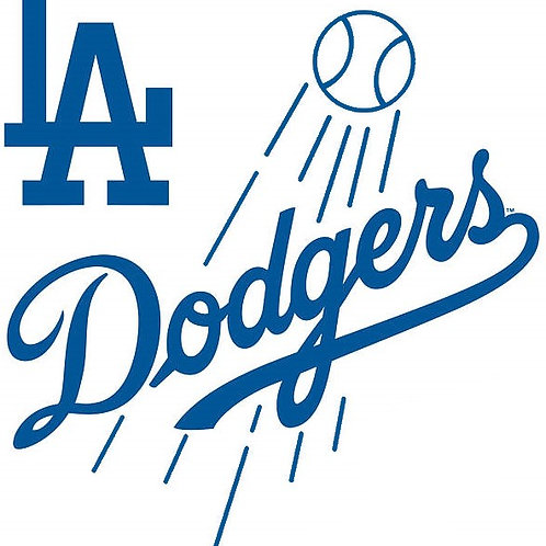 L.A. Dodgers Decal with Ball