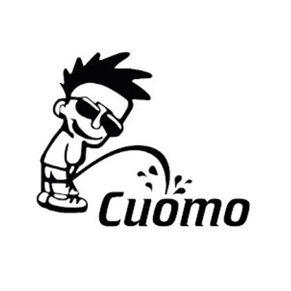 Piss on Cuomo Decal
