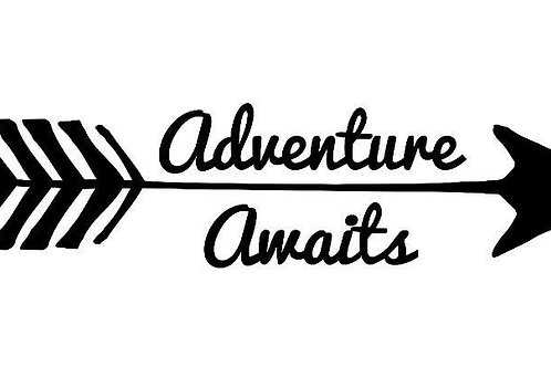 Adventure Awaits Vinyl Decal