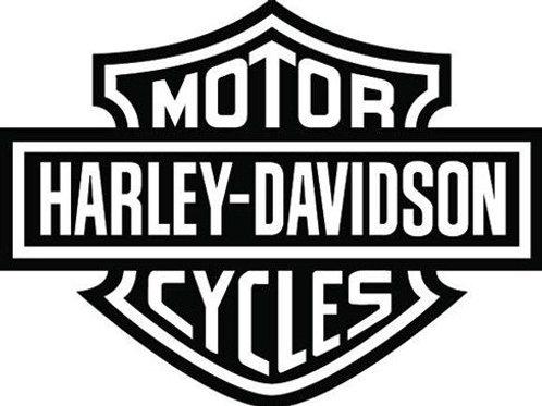 Harley-Davidson Motor Cycles Logo Decal