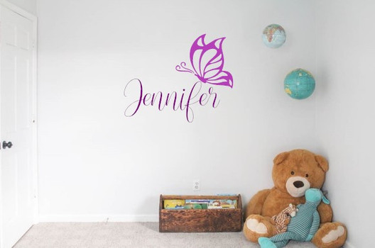 Window Decals and Custom Wall Designs Jennifer