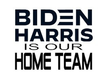 Biden Harris Is Our Home Team Decal