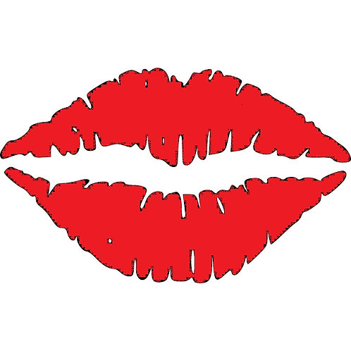 Set of Lips Decal