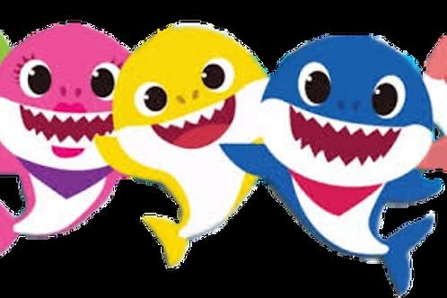 Baby Shark DooDooDooDoo Vinyl Sticker