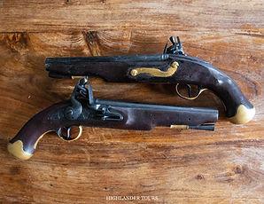 Highlander Tours Rubber Pistols