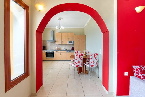 Spacious self catering apartments