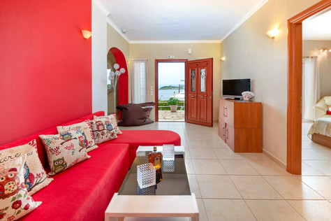 Ocean view accommodations
