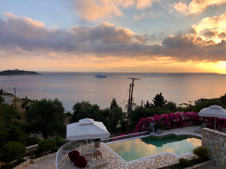 When the sun rises in Paxos...