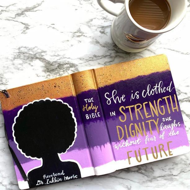 Purple Reign Bible