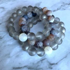 Grey Bracelet Set