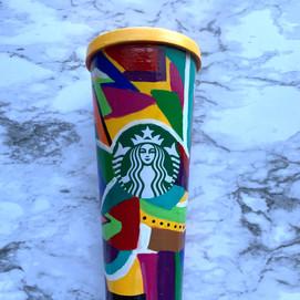 Colorful Starbucks Tumbler