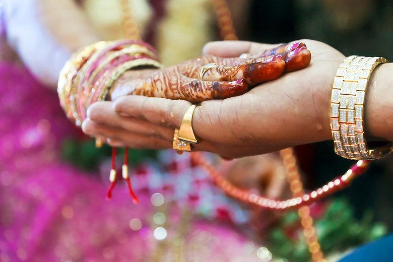 Hindu Свадьба Ритуал