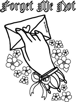 Free coloring card. Use code FREE to download