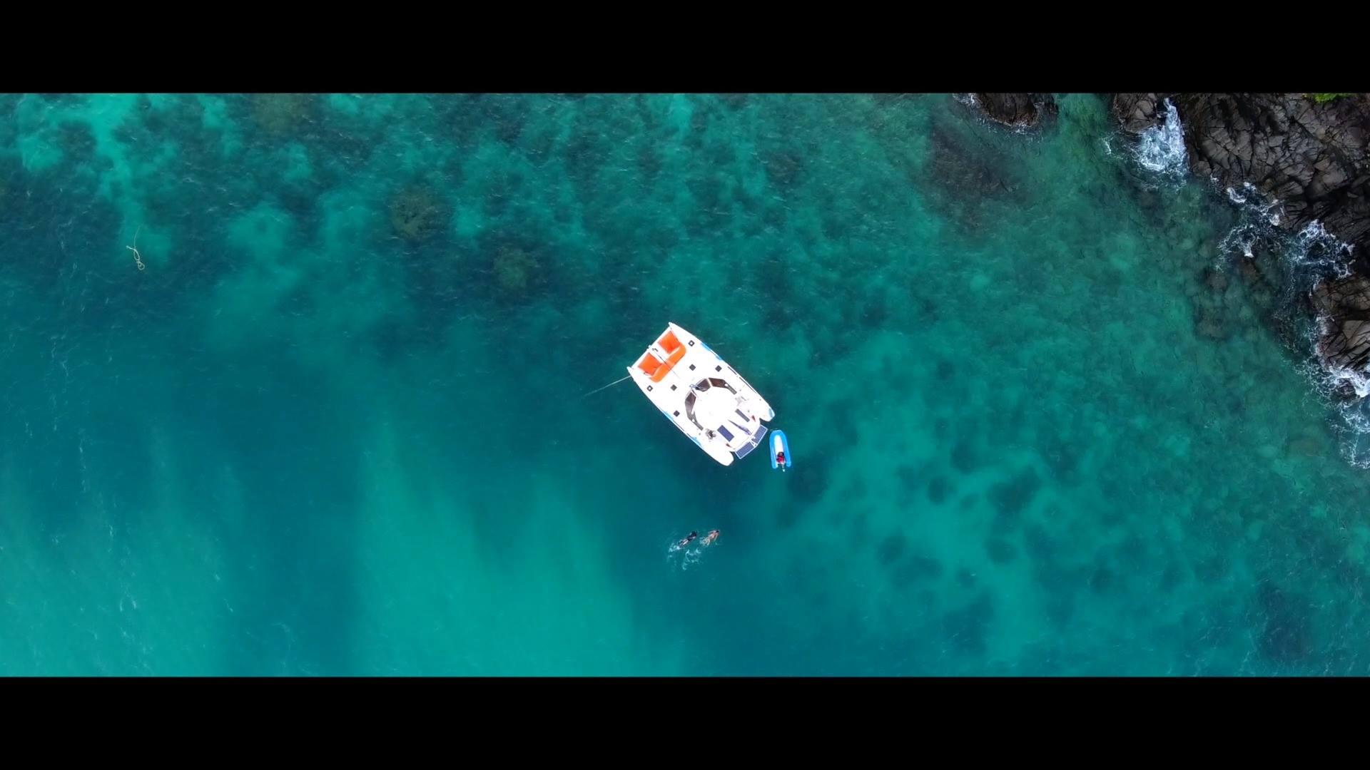 Catamaran Klook Present