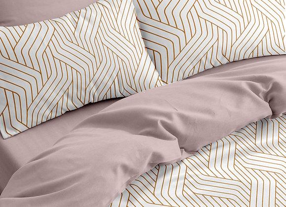 Комплект постельного белья Геометрия беж