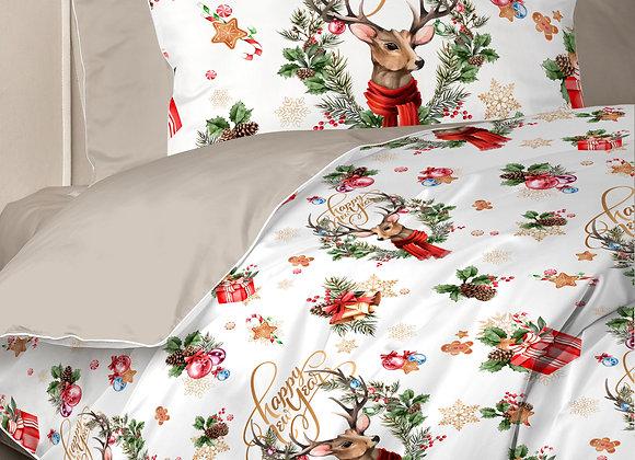 Комплект постельного белья Северные олени