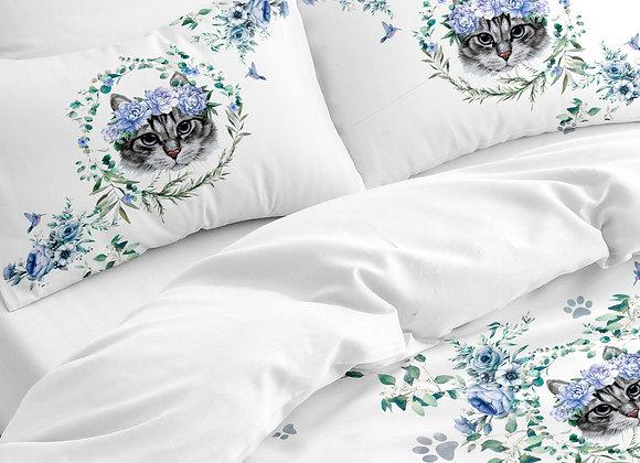 Комплект постельного белья Кошечка