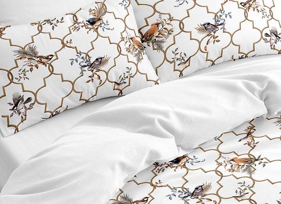 Комплект постельного белья Птицы и венецианская решетка