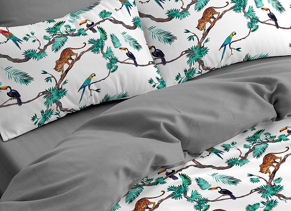 Комплект постельного белья Леопард