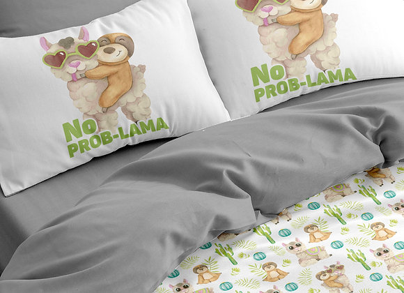 Комплект постельного белья Лама no problama