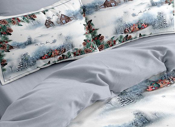 Комплект постельного белья Домики