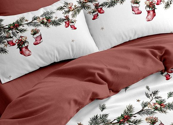 Комплект постельного белья Новогодние мышки