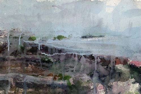 Seascape, 12 x 19 inches