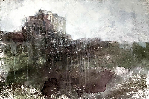 Square House, 27 x 40 inches
