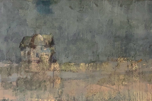 Prarie House, 20 x 40 inches