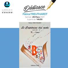 """Dédicace """"Le Capitaine des mots"""" de Patrice Treuthardt à la librairie Gérard"""