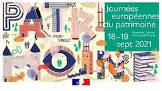 Journées européennes du Patrimoine-18 et 19 septembre 2021