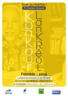 Konkour Lankréol/Pri Daniel Honoré 2019
