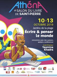 Salon du livre Athéna à Saint-Pierre