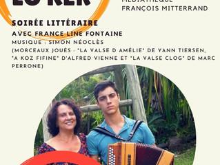 Démay lo Kèr à la médiathèque François Mitterrand : France-Line Fontaine