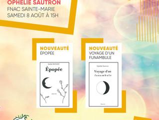"""Dédicace """"Épopée"""" d'Émilie Richard et """"Voyage d'un funambule"""" d'Ophé"""