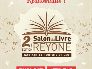Salon du livre Réyoné