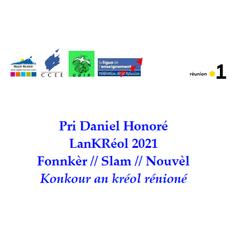 Konkour Lankréol 2021-Pri Daniel Honoré