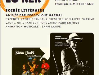 Démay lo kèr à la médiathèque François Mitterrand : Expédite Laope-Cerneaux