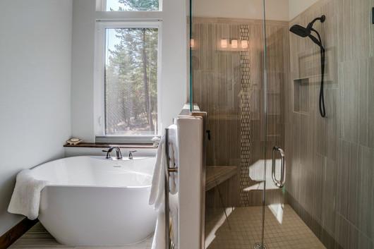 Big Bear Boulder Master Bath