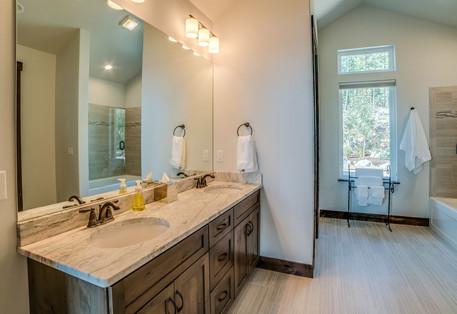 Big Bear Boulder Guest Suite Bath