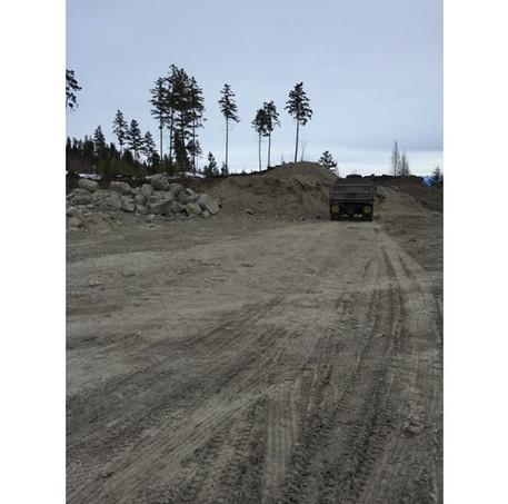 Ridgeline Cabins Roadway Project