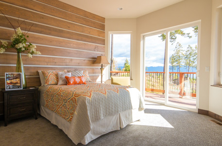Swan Home Master Bedroom