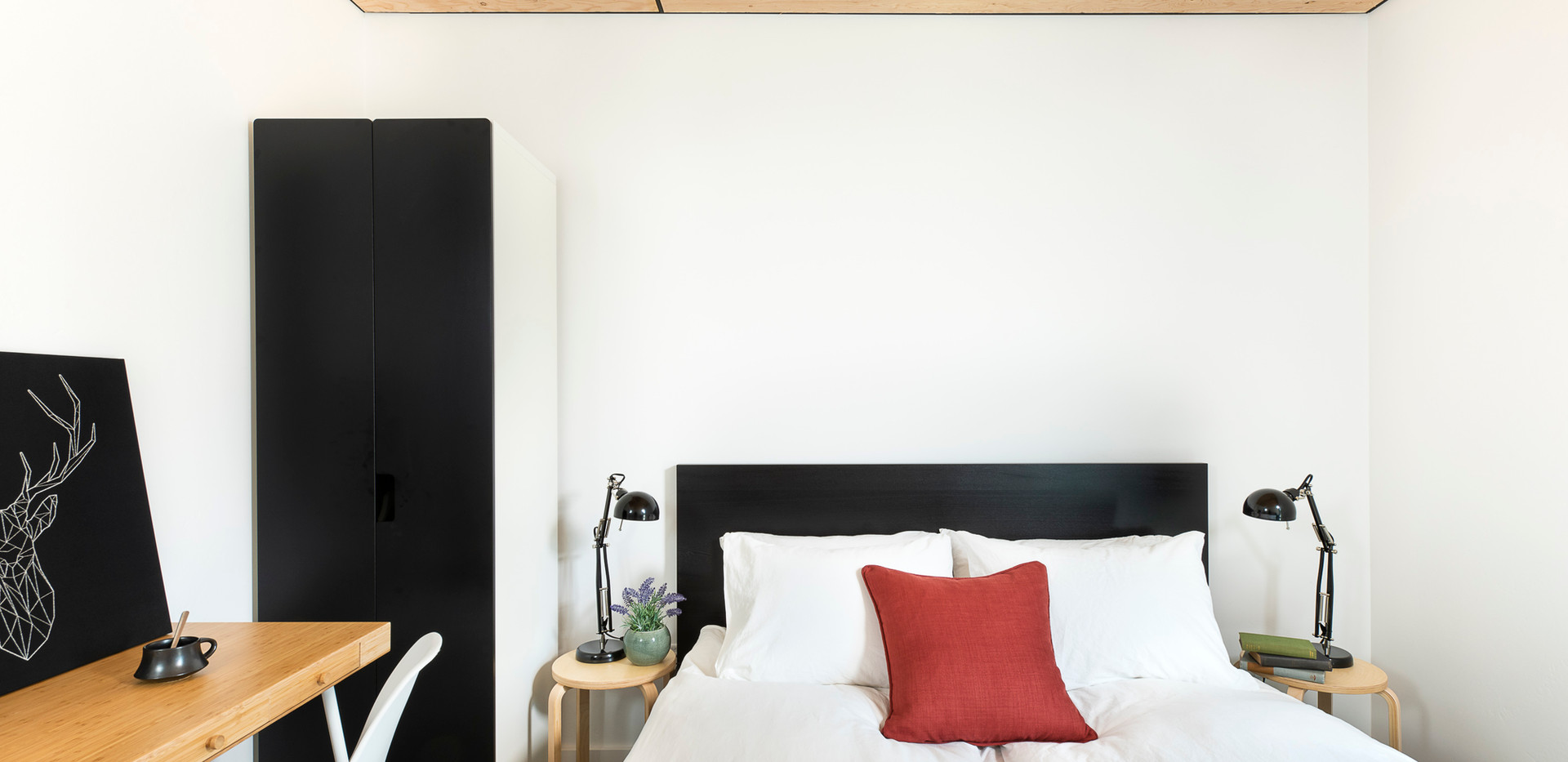 Stoner Creek Cabins Master Bedroom