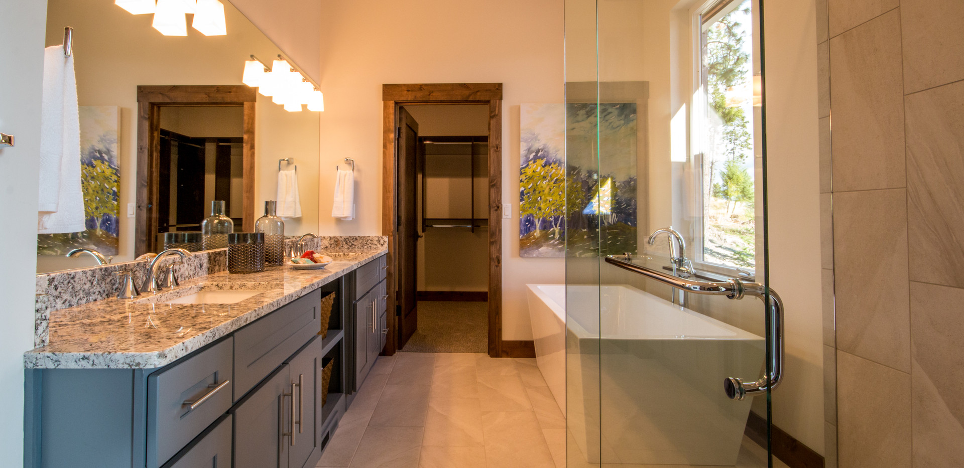 Swan Walkout  Master Bath